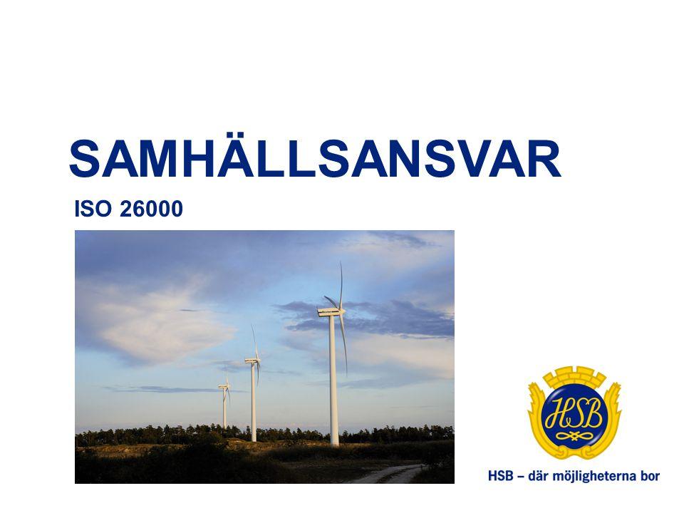 SAMHÄLLSANSVAR ISO 26000