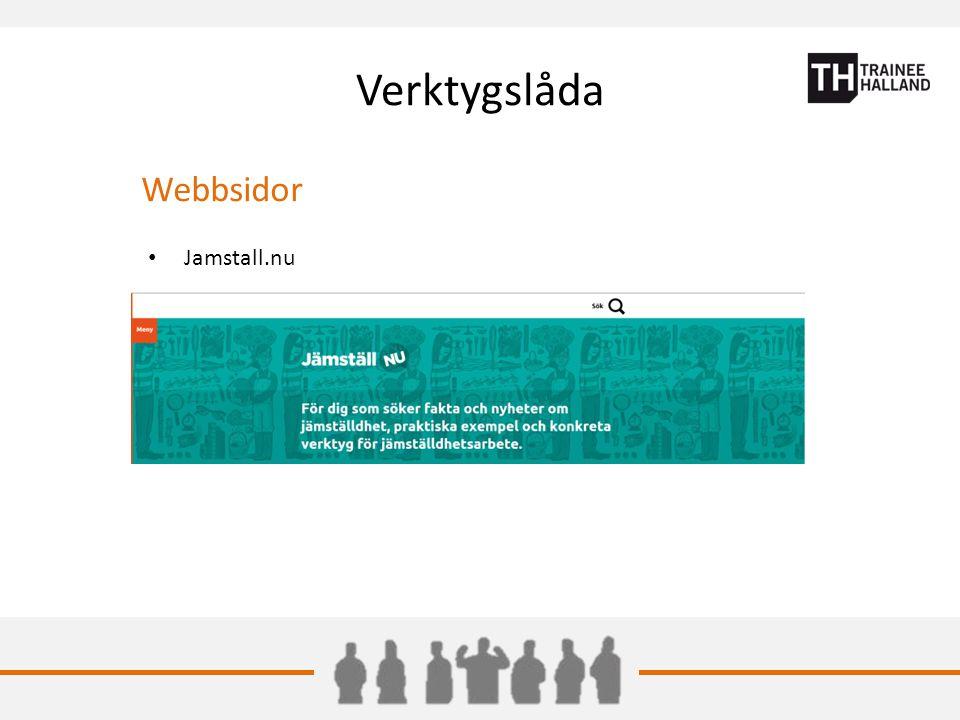 Verktygslåda Webbsidor Jamstall.nu