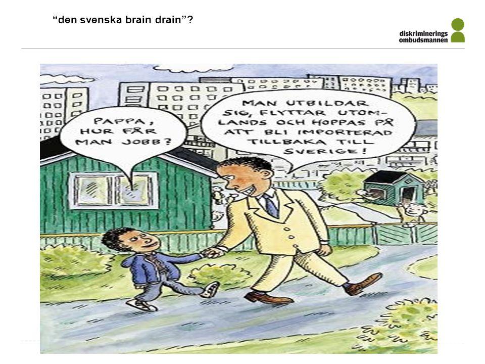 """den svenska brain drain""?"