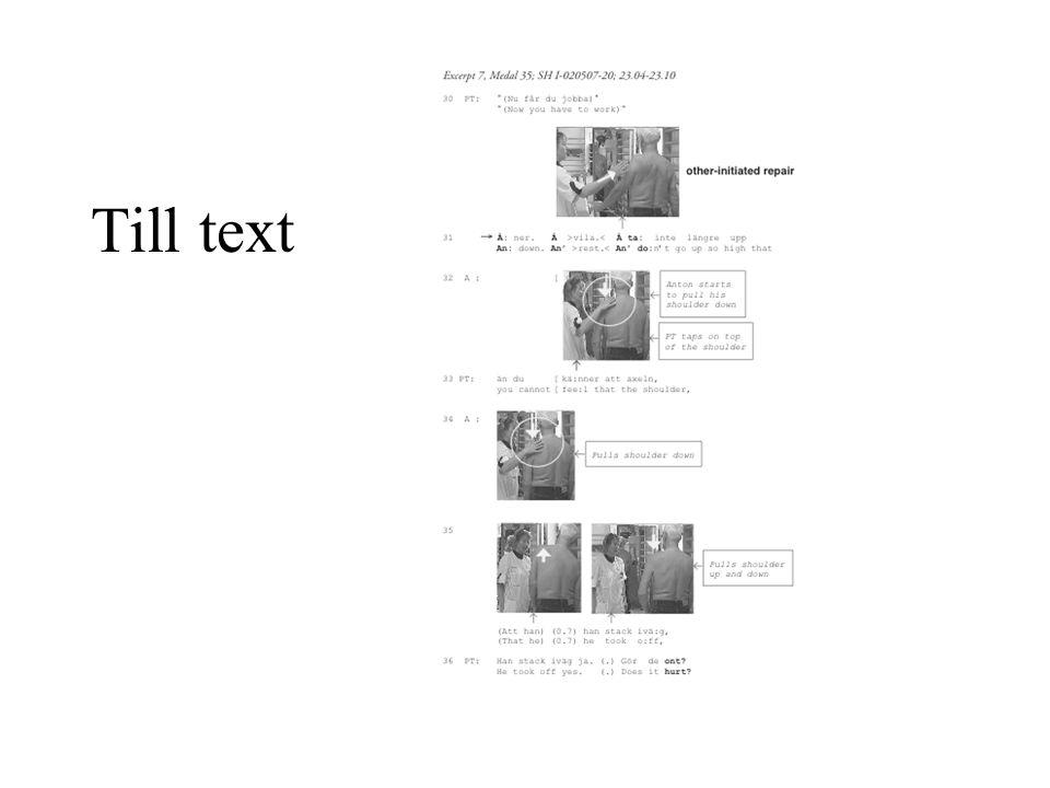 Till text