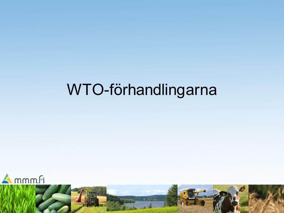 WTO-förhandlingarna