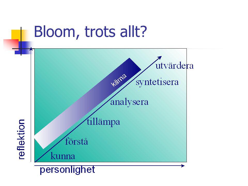 Bloom, trots allt?