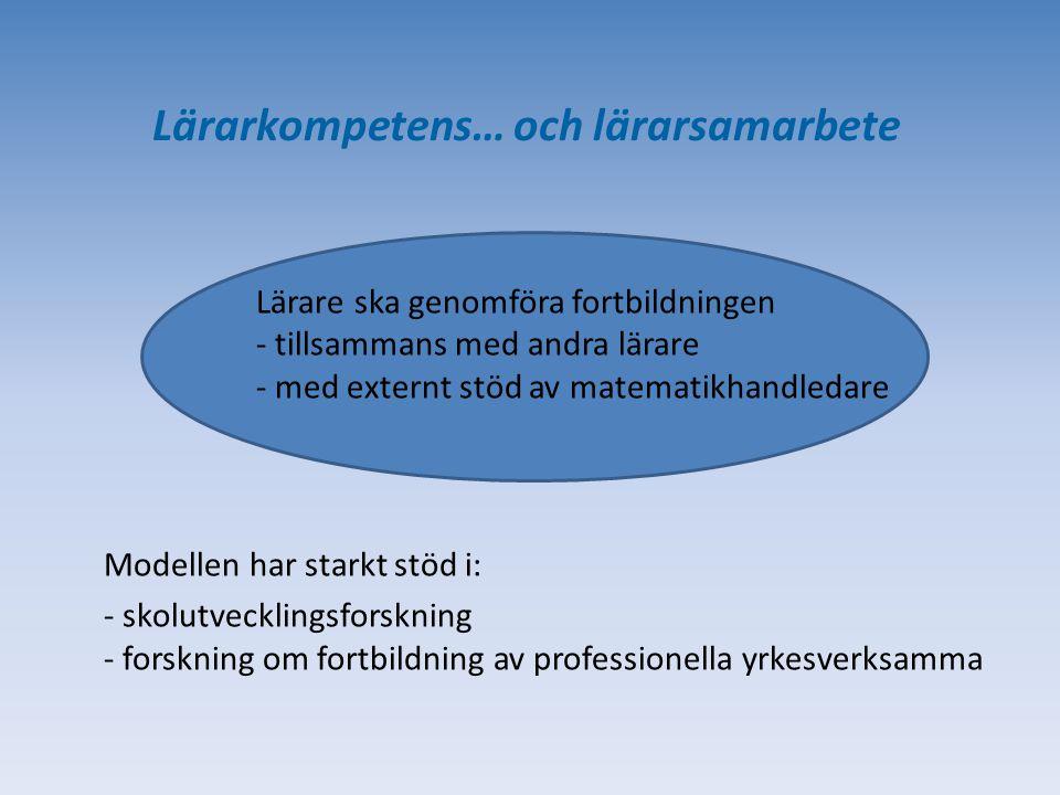 Formativ bedömning… SKL:s Matematiksatsning PISA 2015 … Var står vi nu.