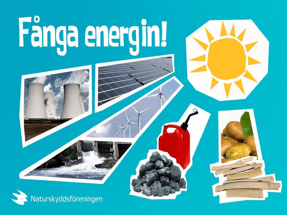 Hur mycket användbar energi får vi ur varje energikälla? Vilken kvalitet har detta energin?