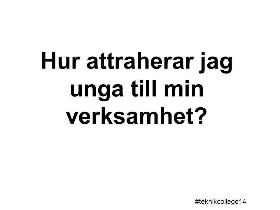 Teknikcollege Arvika/Eda Åsa Barck, Volvo CE Catharina Eriksson, Solbergagymnasiet Gemensam finansiering