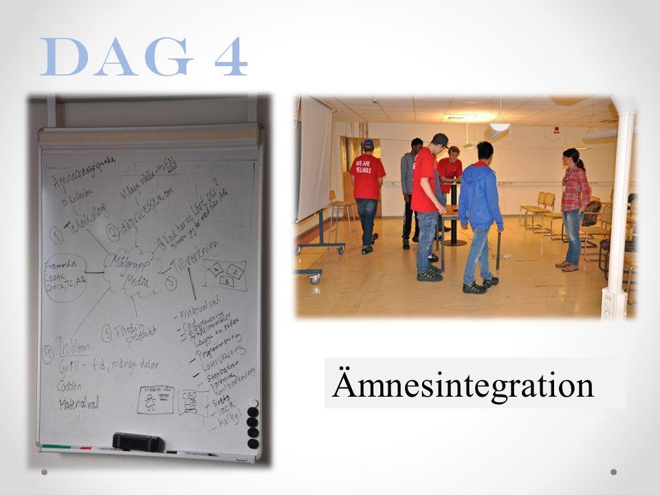 Ämnesintegration Dag 4