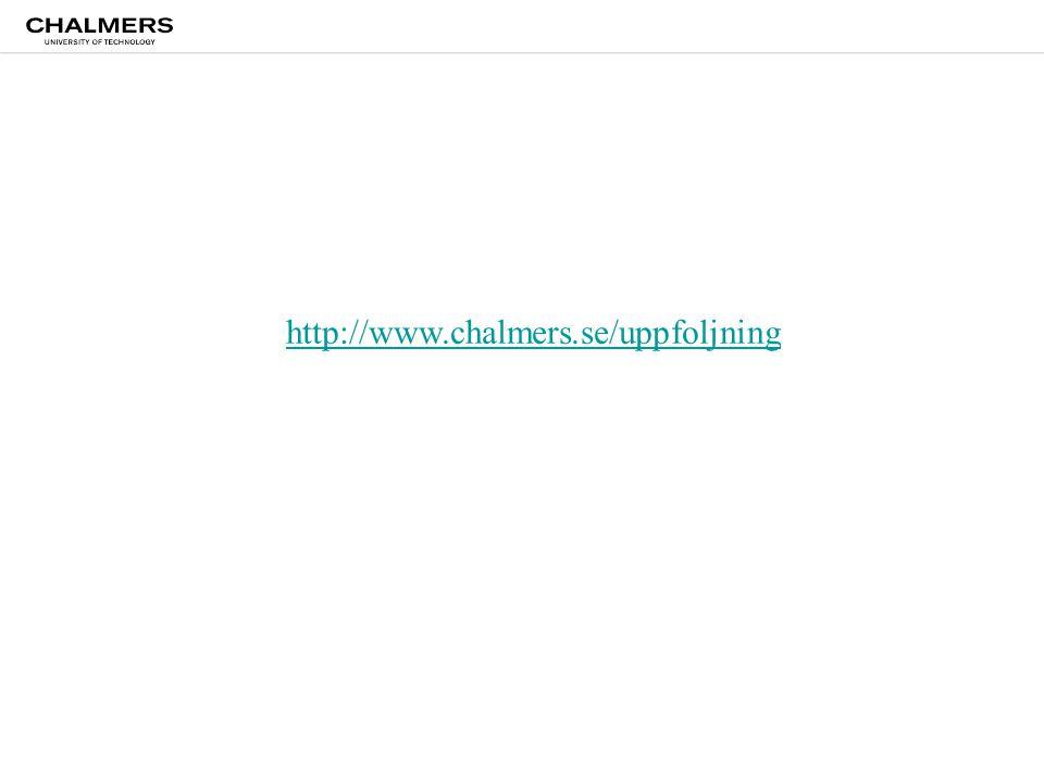 http://www.chalmers.se/uppfoljning