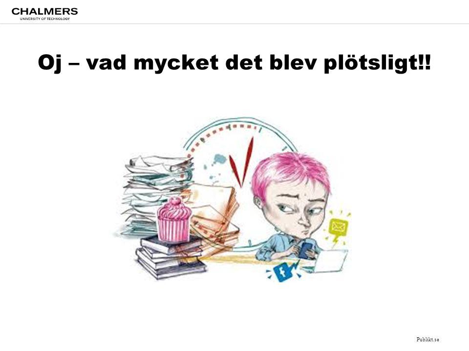 Oj – vad mycket det blev plötsligt!! Publikt.se