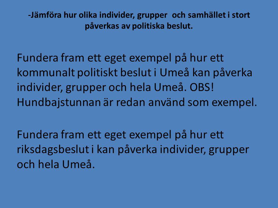 Sveriges grundlagar -Vilka är grundlagarna och varför finns de till.