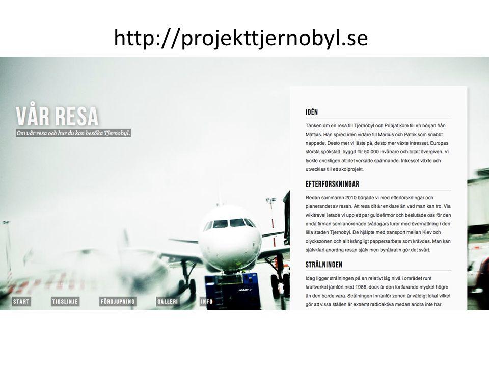 På en Webbplats Meny Om-sida Innehåll