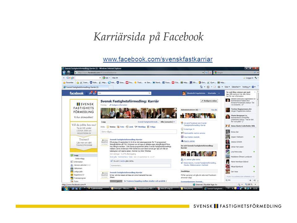 Vad erbjuder Svensk Fastighetsförmedling som arbetsgivare.