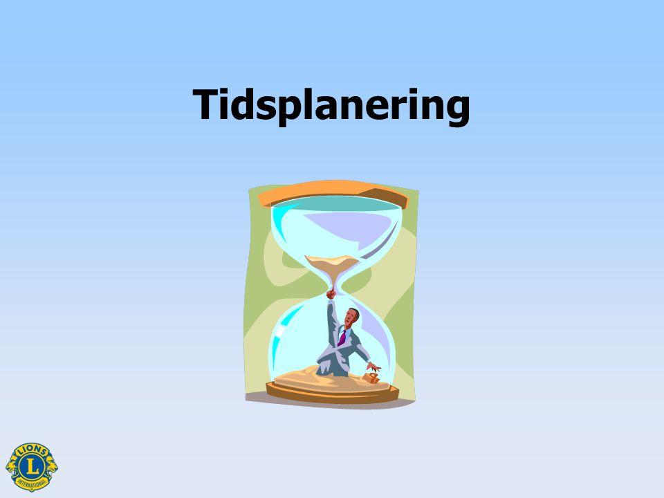 Betydelsen av tidsplanering Tidsplanering1