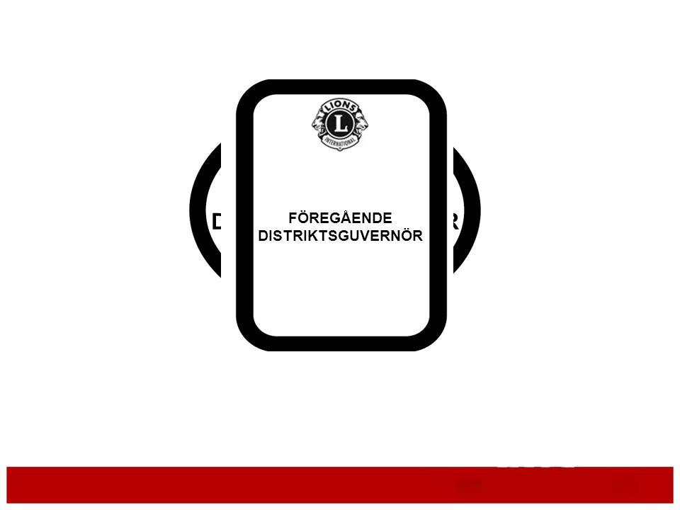 DISTRIKTSGUVERNÖR FÖREGÅENDE DISTRIKTSGUVERNÖR