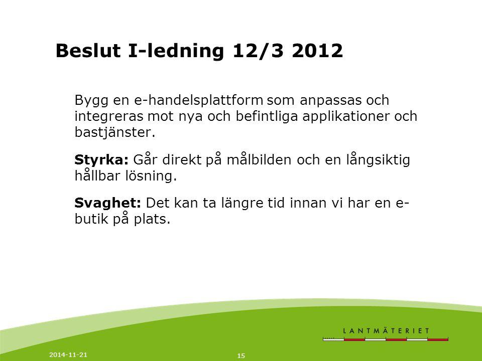 2014-11-21 16 Målsättning 2016 administration, kundkontakt