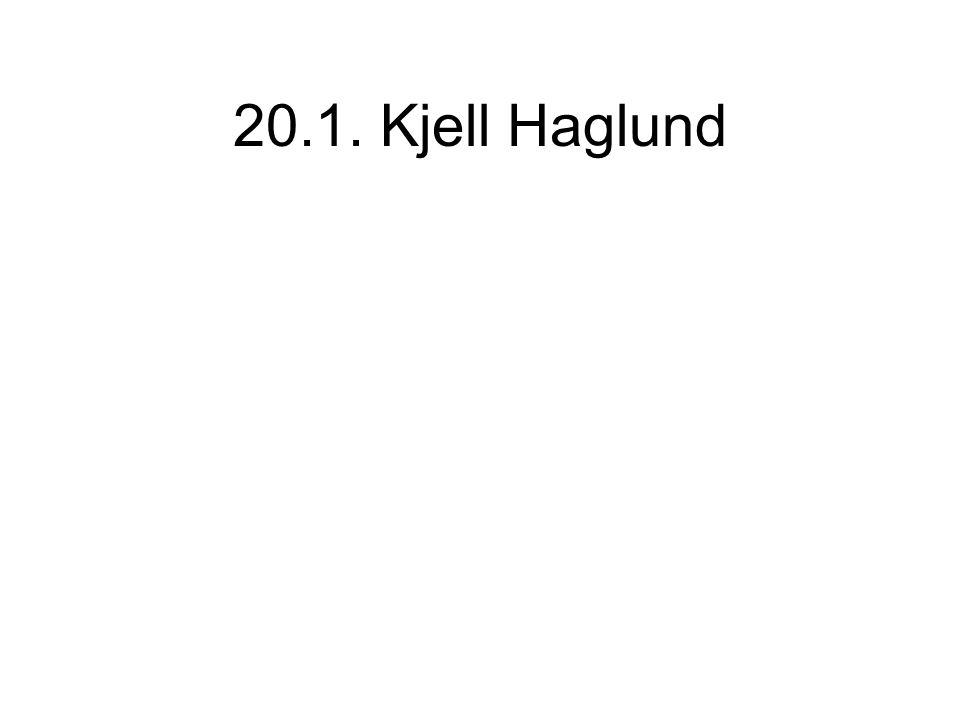 20.1. Kjell Haglund