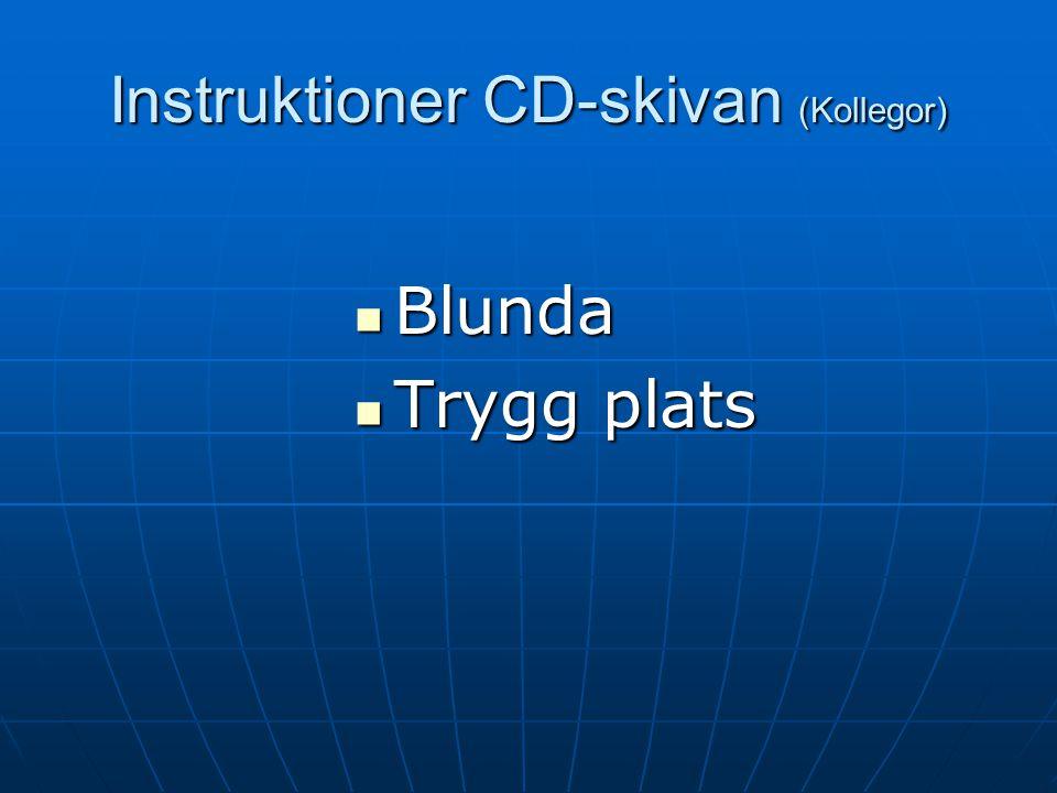 Demo Sugsurfing CD-skivan (Klienter) Steg 1 Kroppslig avslappning Steg 1 Kroppslig avslappning Steg 2 Mental avslappning Steg 2 Mental avslappning Ste