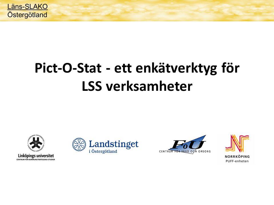 Pict-O-Stat - ett enkätverktyg för LSS verksamheter