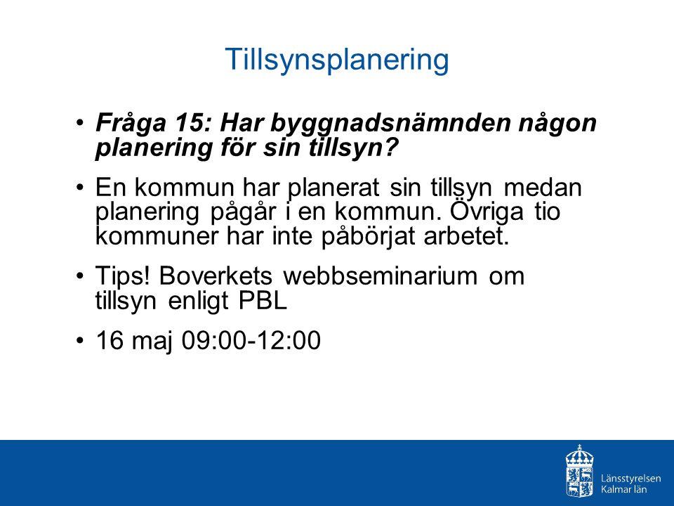 Förelägganden Fråga 17: Hur många beslut om förelägganden enligt 10 kap äldre PBL och 11 kap nya PBL har utfärdats under 2011.