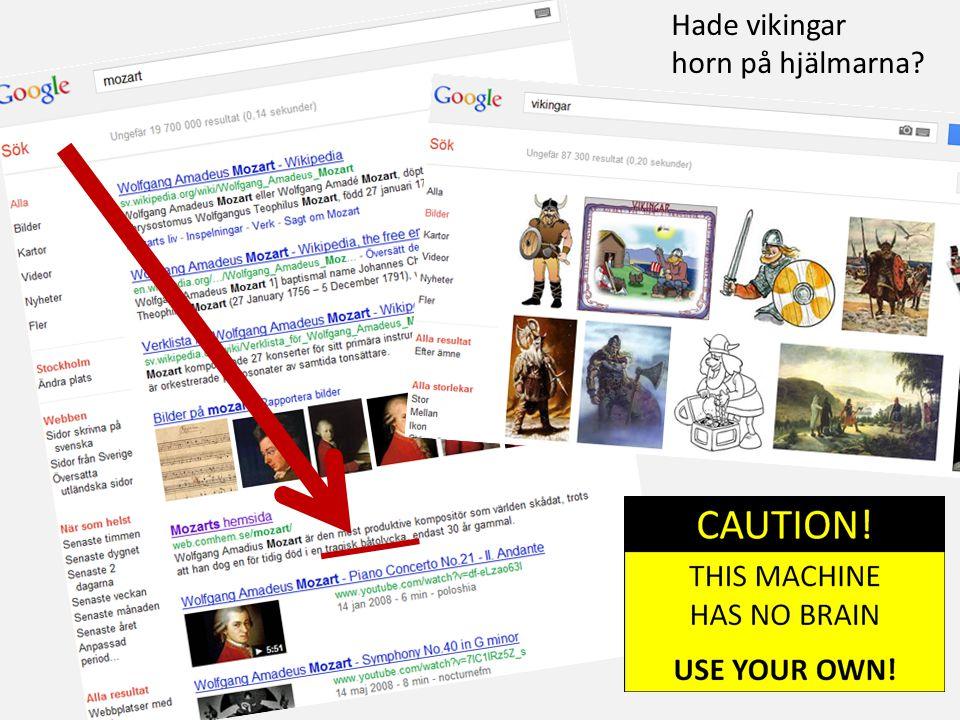 Hade vikingar horn på hjälmarna?