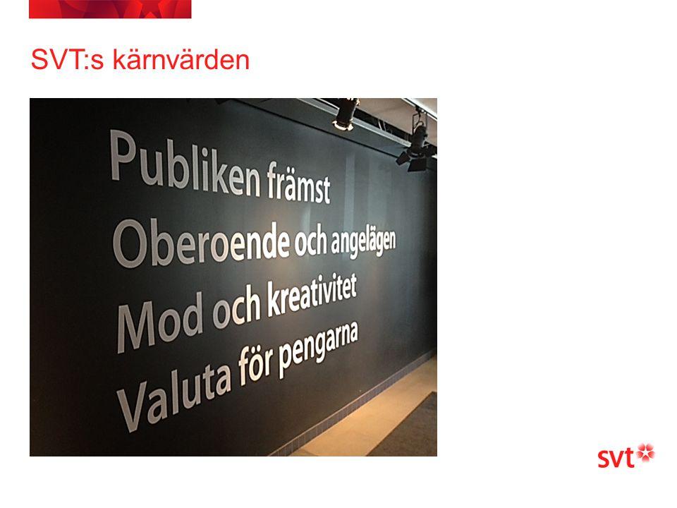 SVT:s kärnvärden