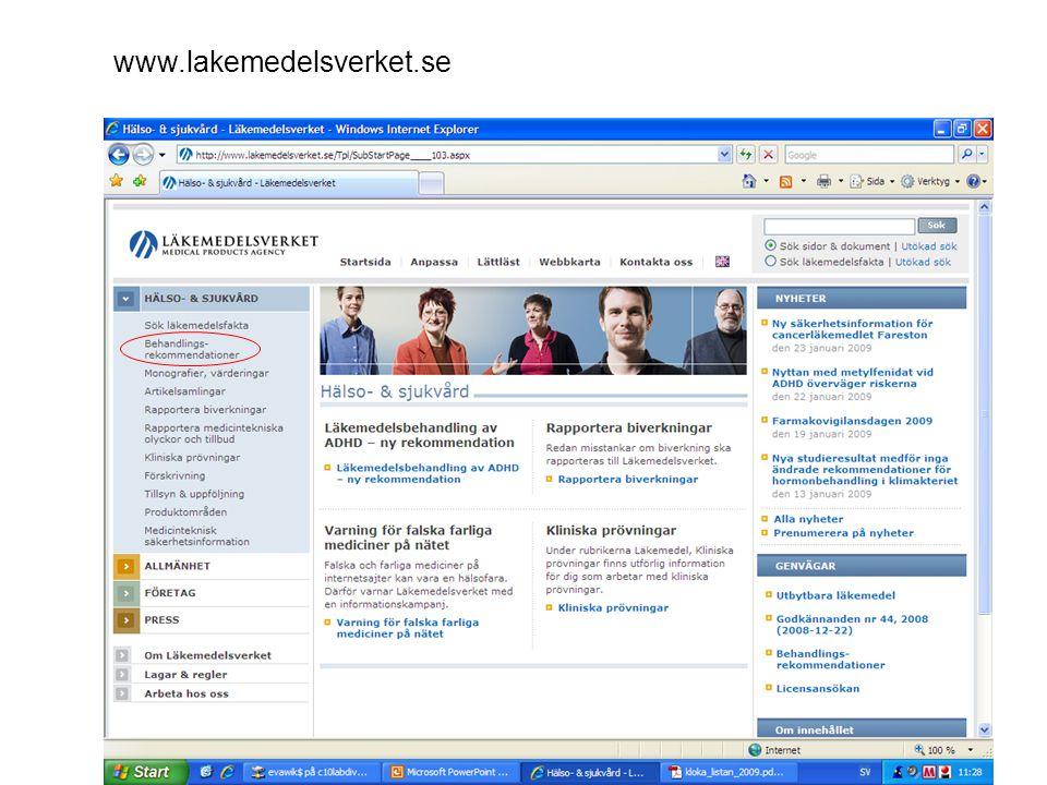 6 www.lakemedelsverket.se
