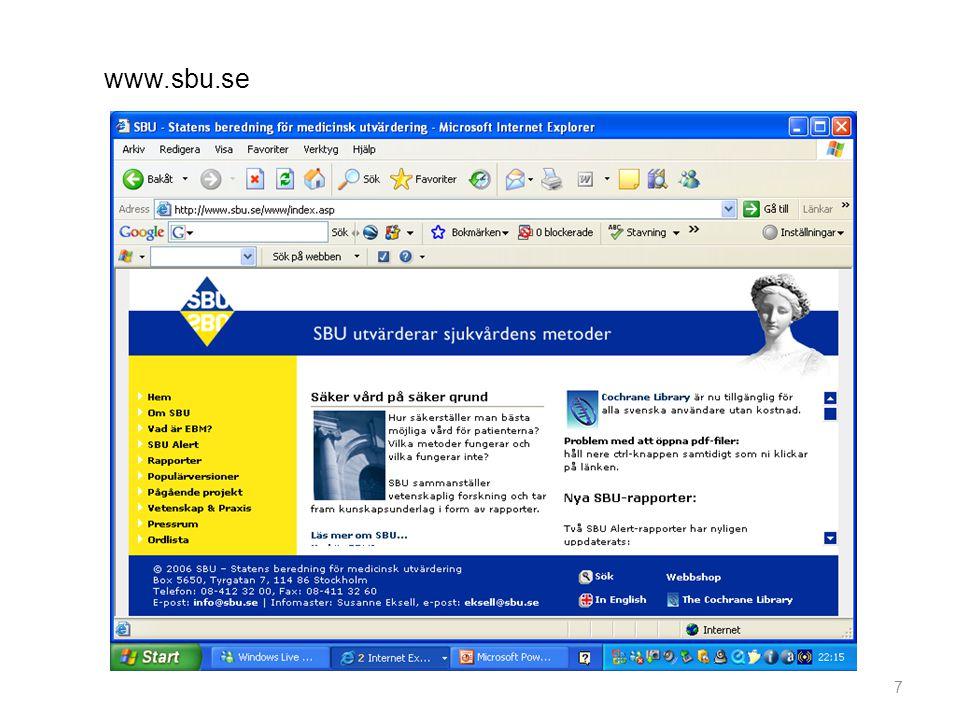 7 www.sbu.se