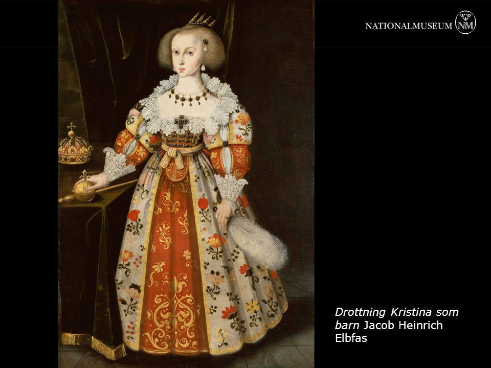Drottning Kristina som barn Jacob Heinrich Elbfas