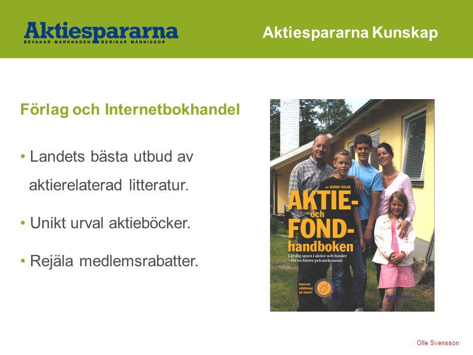 Aktiespararna Kunskap Landets bästa utbud av aktierelaterad litteratur.