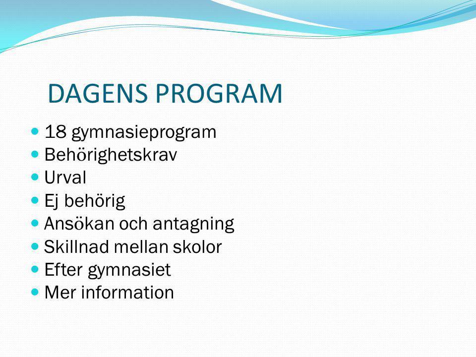 MER INFORMATION Samlad v ä gledning  www.uppsala.se/syv Statistik ö ver skolors resultat  www.uppsala.se/syv Information om ans ö kan och utbud  gymnasievalet.uppsala.se (Obs.