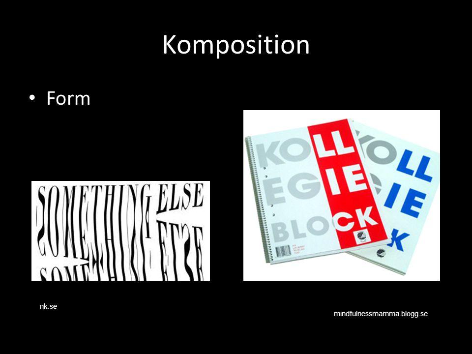 Komposition Form mindfulnessmamma.blogg.se nk.se
