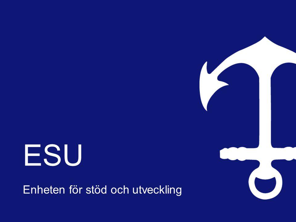 ESU Enheten för stöd och utveckling