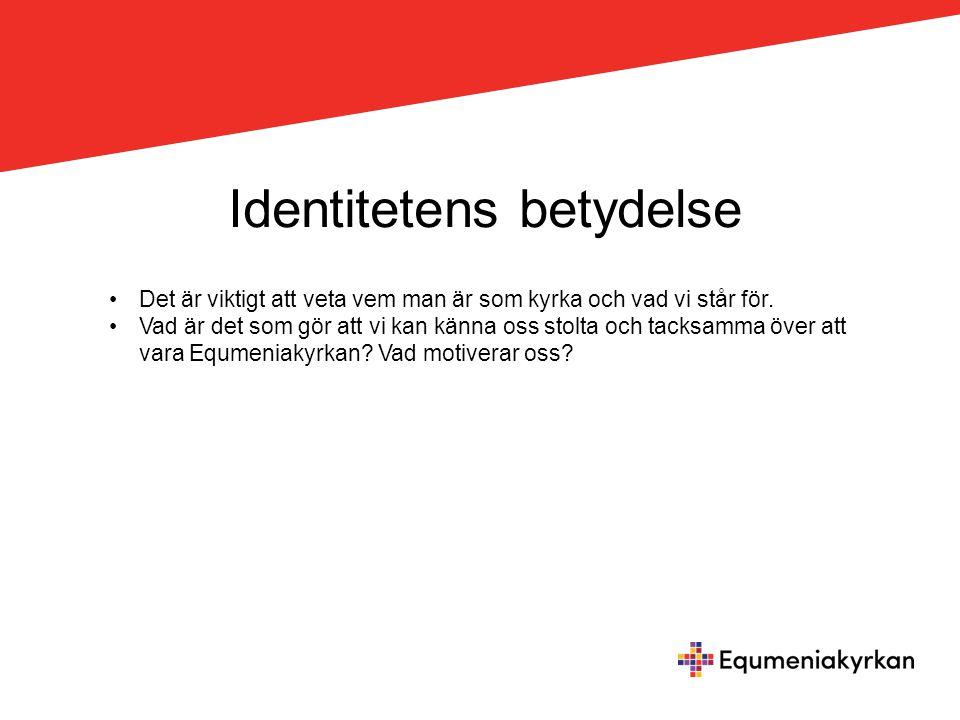 I. Vem är vi? Var har vi vår identitet? Vad är det som utgör och visar vår ID?
