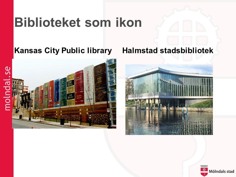 molndal.se Biblioteket som ikon Kansas City Public libraryHalmstad stadsbibliotek