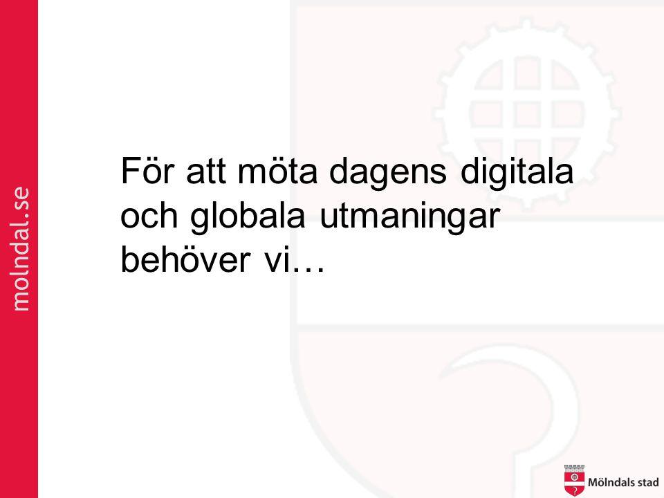 molndal.se För att möta dagens digitala och globala utmaningar behöver vi…