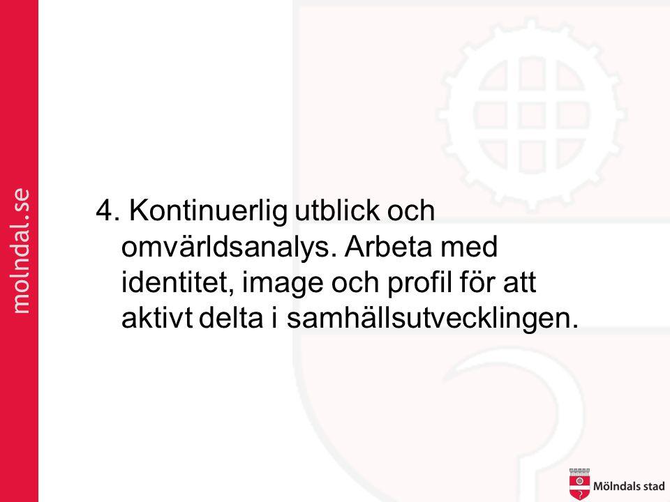 molndal.se 4.Kontinuerlig utblick och omvärldsanalys.