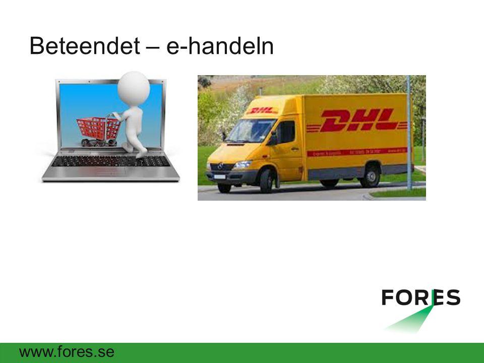 www.fores.se Beteendet – e-handeln