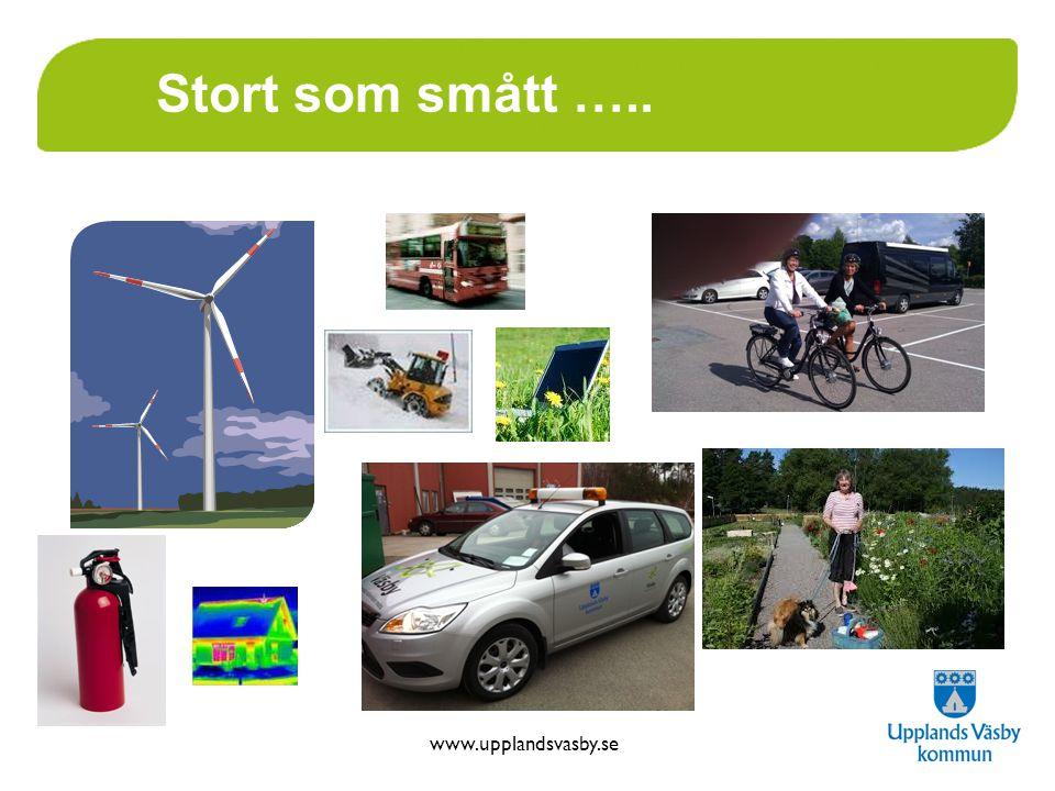 www.upplandsvasby.se Stort som smått …..