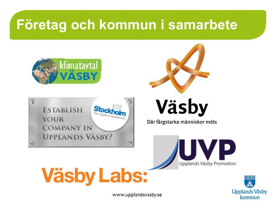 www.upplandsvasby.se Företag och kommun i samarbete