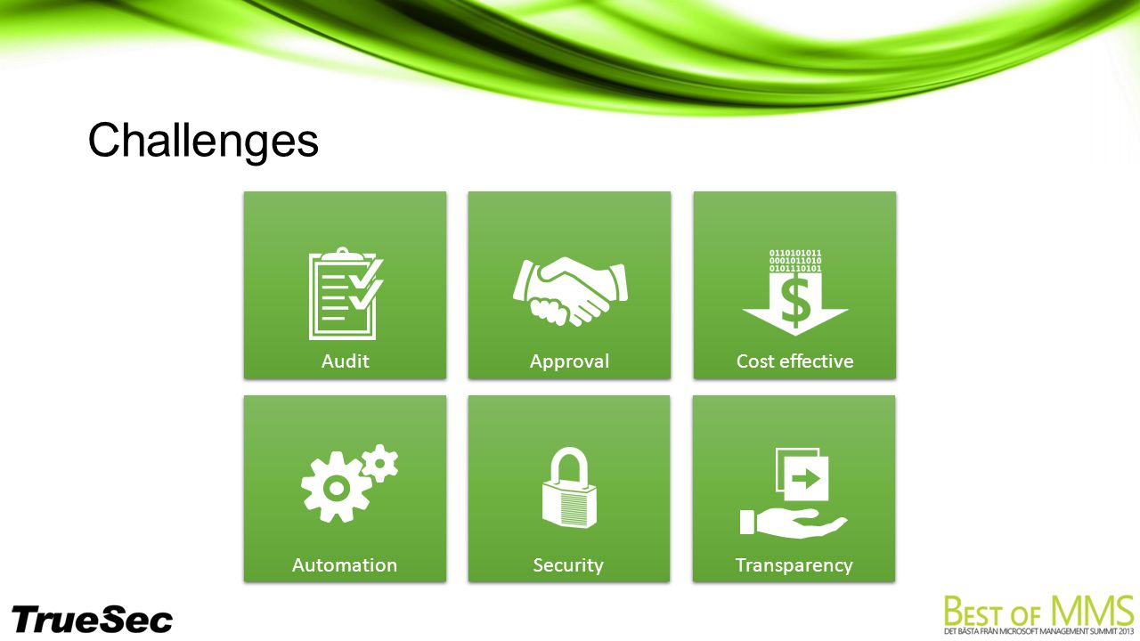 Security Challenges Audit Approval Automation Cost effective Transparency