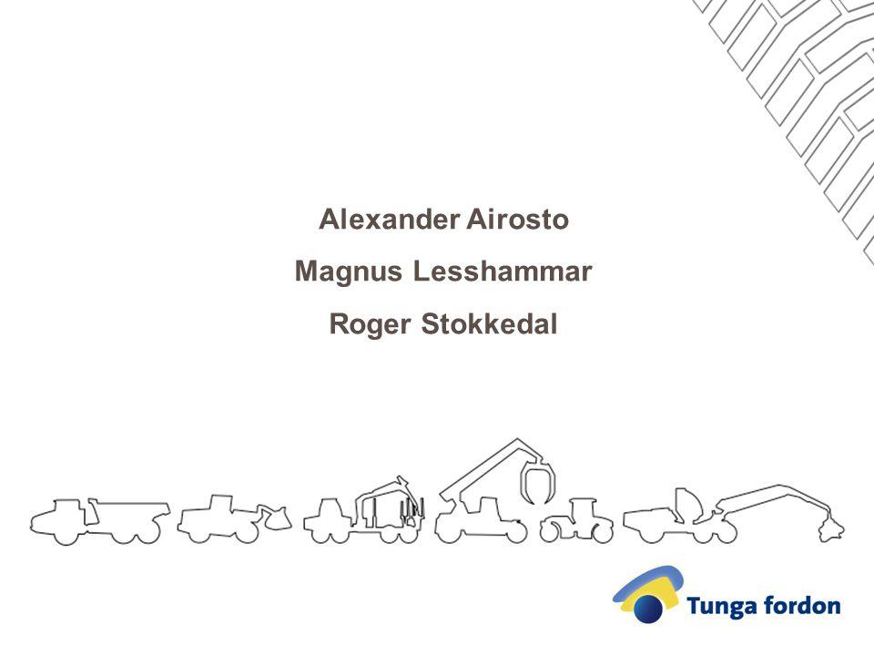 Alexander Airosto Magnus Lesshammar Roger Stokkedal