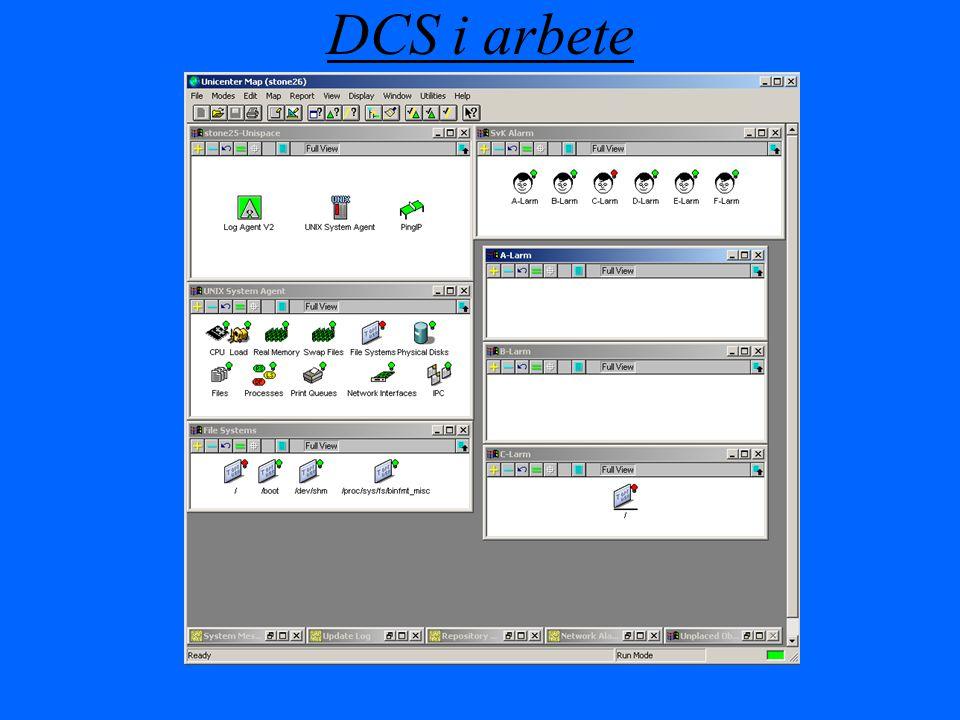 DCS i arbete