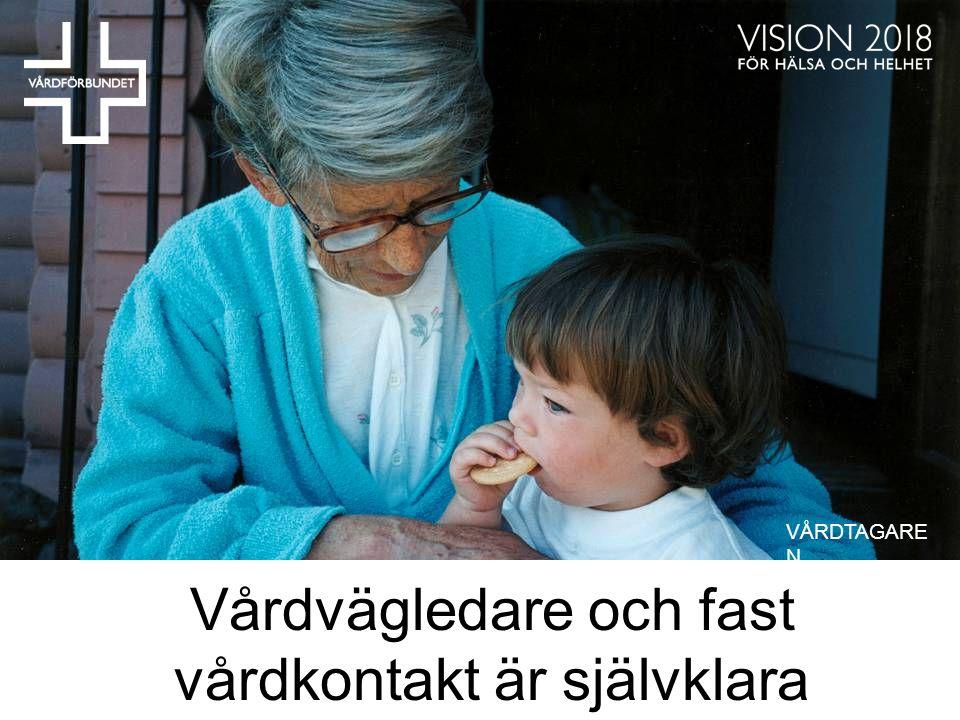 Vårdvägledare och fast vårdkontakt är självklara rättigheter VÅRDTAGARE N