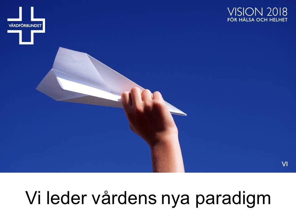 Vi leder vårdens nya paradigm VI