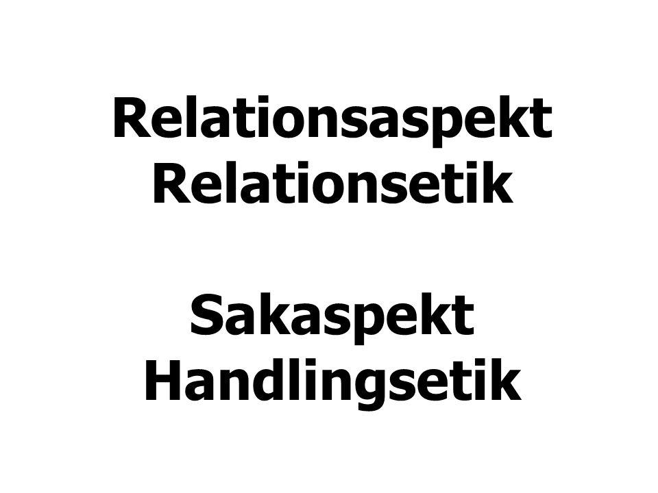 Syn på varandra Respekt Realism Ömsesidigt beroende