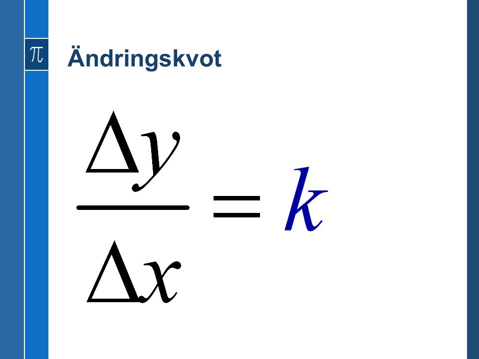 Deriveringsregler f(x) [funktion]f'(x) [derivata] x -1 -x -2 (-1*x -2 ) x -2 -2x -3 x -3 -3x -4 x -4 -4x -5 x -5 -5x -6 x a ax a-1