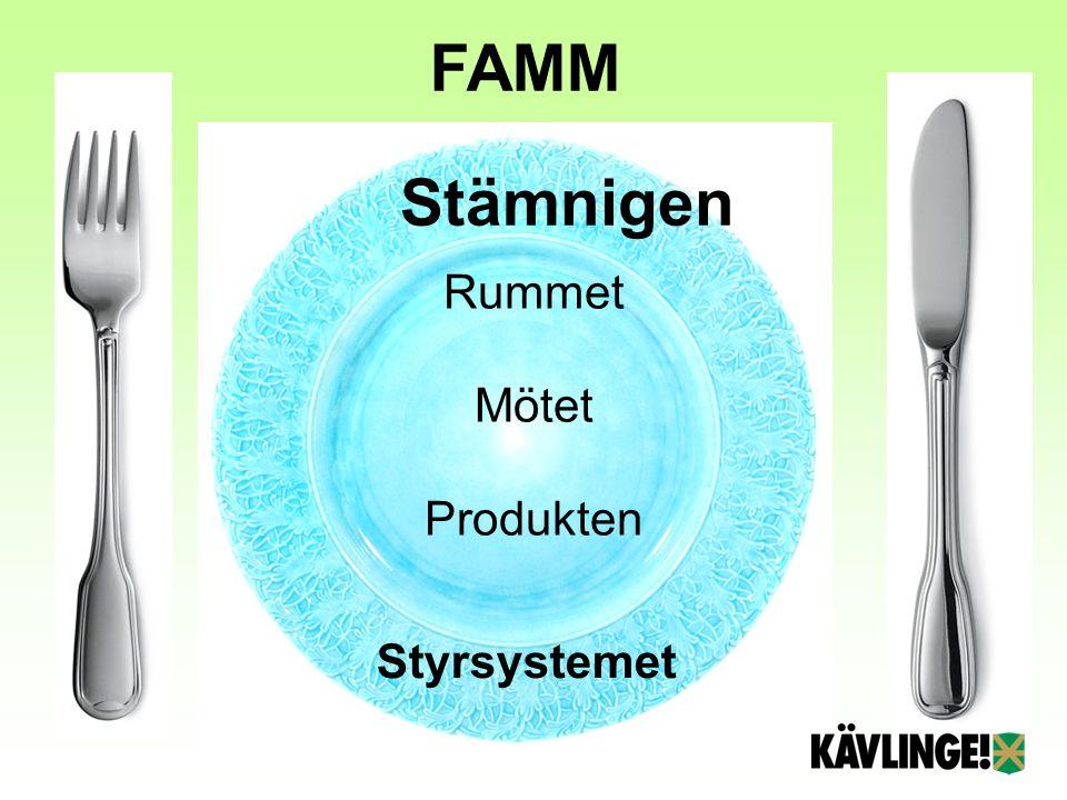 Rummet Mötet Produkten Styrsystemet Stämnigen FAMM