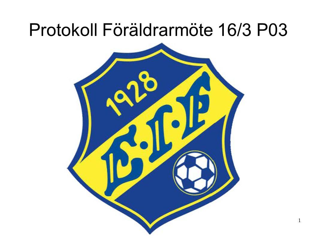 1.Föräldrarna hälsades välkomna till Eskils klubbstuga.