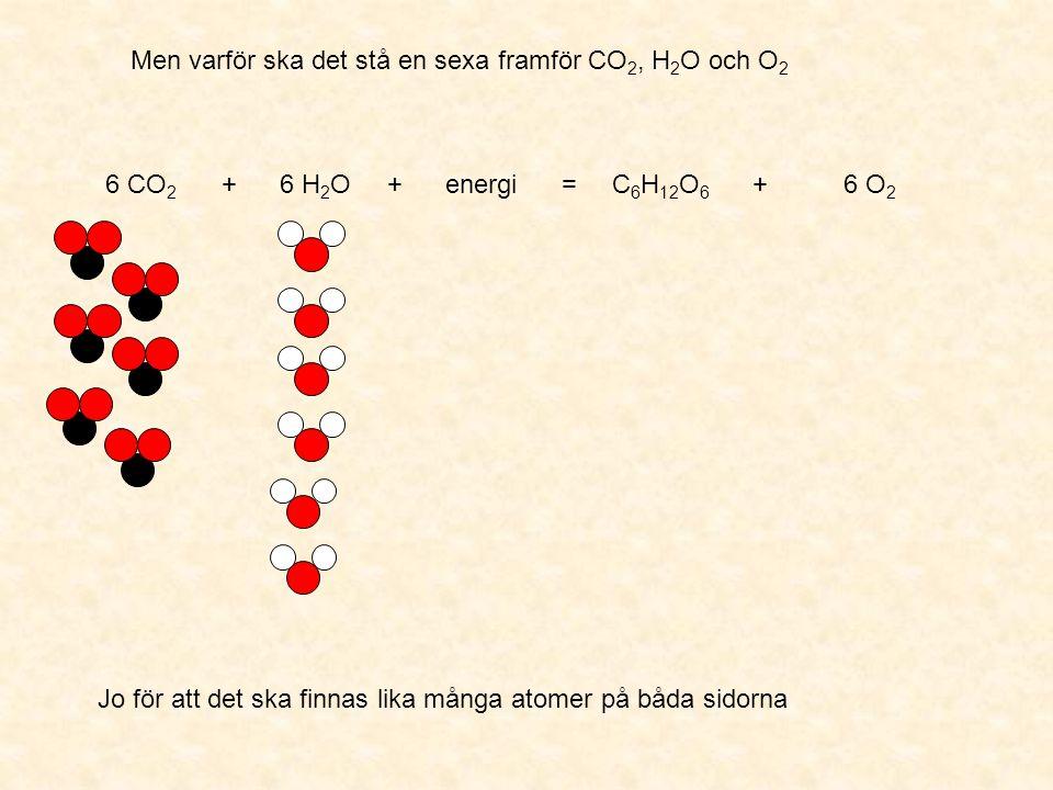 Hur kan det komma sig att molekylerna delar upp sig.