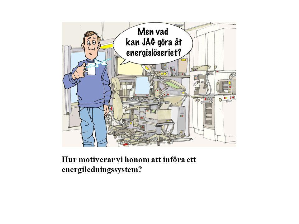 Hur motiverar vi honom att införa ett energiledningssystem?