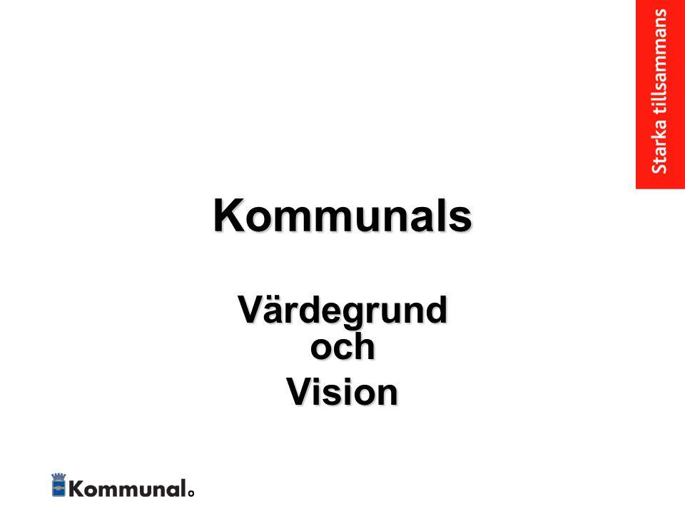 Visionen Kommunal känner inga gränser för kampen.